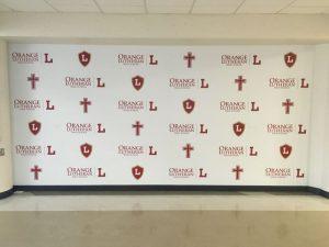 Bradenton Church Signs custom wall vinyl step repeat mural 300x225
